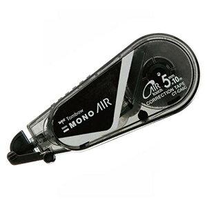 トンボ鉛筆 修正テープ MONO モノエアー 5mm フルブラック 5個 CT-CA5C11-5P[un]