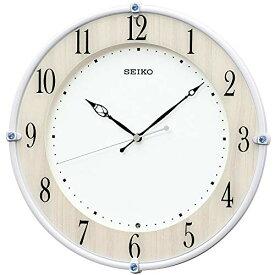 セイコークロック 掛け時計 メープル調木目 本体サイズ:30.7×30.7×4.9cm 電波 アナログ KX242B[un]