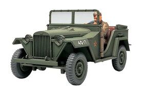 タミヤ 1/48 ミリタリーミニチュアシリーズ No.42 ソビエト陸軍 フィールドカー GAZ-67B プラモデル 32542[cb]
