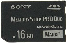 """SONY 著作権保護機能搭載IC記録メディア""""メモリースティック PRO デュオ"""" 16GB MS-MT16G T1[cb]"""