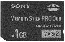 SONY メモリースティック Pro Duo Mark2 1GB MS-MT1G[cb]