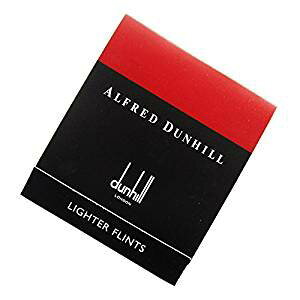 ダンヒル【dunhill】 ライター専用フリント(発火石) 赤 ローラガスライター用[cb]