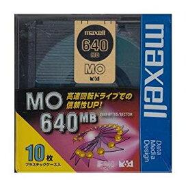 3.5インチ640MB MOメディア maxell MA-M640.B10P[cb]