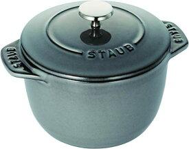 STAUB ストウブ ラ・ココット de GOHAN 炊飯鍋 1合サイズ ご飯鍋 40509-702-0 グレー