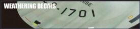 1/350 スタートレック 宇宙大作戦 U.S.S.エンタープライズ NCC-1701用 ウェザリングデカール