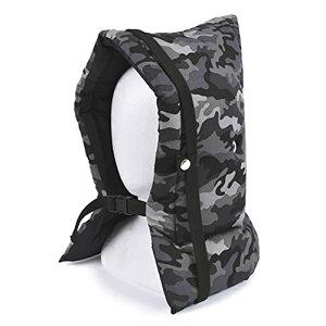 備えて安心キッズ防災頭巾 迷彩・グレー 日本製 N4422800