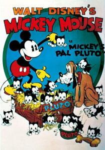 300ピース ジグソーパズル ディズニー ミッキーの愛犬プルート(30.5x43cm)[cb]
