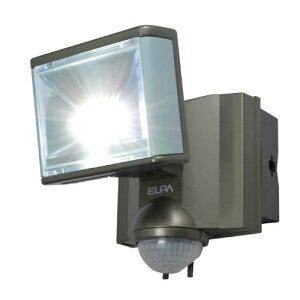 ELPA 屋外用センサーライト AC電源 8wLED 1灯 ESL-801AC[cb]