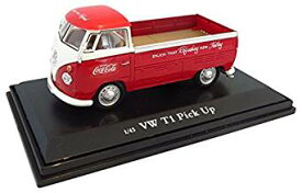 Coca-Cola Collectibles 1/43 VW ピックアップ 1962 レッド 完成品[cb]