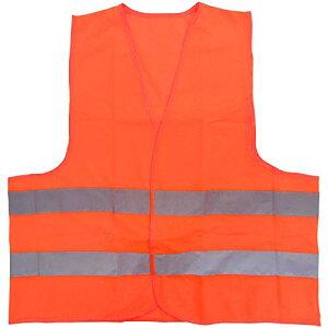 ミドリ安全 高視認安全ベスト 蛍光オレンジ 4073160040 安全ベスト[cb]