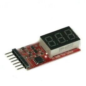 イーグル模型 バッテリー電圧チェッカー 2-6Cell Li-Po&Li-Fe用 3915-NB[cb]