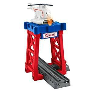 Fisher-Price Thomas the Train TrackMaster Harold's Helipad トーマス ハロルド ヘリパッド フィッシャープライス【平行輸入品】[cb]