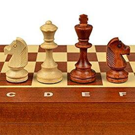 Wegiel 木製チェスセット トーナメント No.4 41cm [並行輸入品][cb]