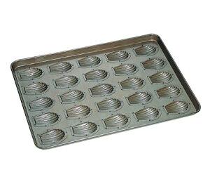 シリコン加工 貝型マドレーヌ型 天板(25ヶ取)