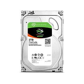 """Seagate FireCuda 3.5""""2TB SSHD 内蔵ハードディスク ゲーム用 5年保証 6Gb/s MLC/8GB 7200rpm 正規代理店品 ST2000DX002[cb]"""