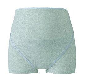 ワコール (Wacoal) マタニティ 妊婦帯 パンツタイプ (1枚で着用できる) 産前 ボーイレングス [ 開閉できるタイプ ] M グレー MRP320 GY[cb]