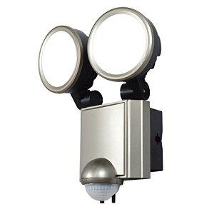 ELPA LEDセンサーライト 2灯 ESL-SS1002AC ESL-SS1002AC[cb]