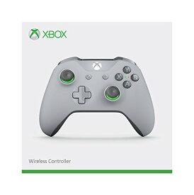 Xbox ワイヤレス コントローラー (グレー / グリーン)[cb]