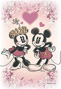 70ピース ジグソーパズル ディズニー KIRIART-Mickey&Minnie-【プリズムアートプチ+フレームセット】[cb]