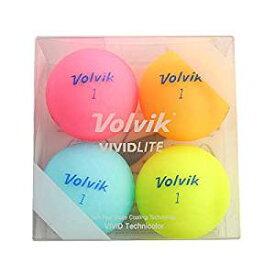 ボルビック Volvik ボール VIVID LITE ボール 4個入り 4個入り[cb]