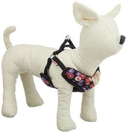 ペティオ (Petio) 犬雅 桜と菊ベストH ブラック SSサイズ[cb]