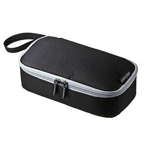 サンワサプライ トラベル小物ポーチ 6ポケット (モバイルバッテリー・充電器・ACアダプタ・マウス等向け) IN-AD6BK[cb]