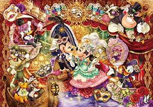 1000ピース ジグソーパズル ディズニー 華麗なるマスカレードへの招待【ピュアホワイト】(51×73.5cm)[cb]