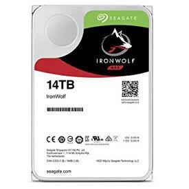 "Seagate IronWolf 3.5"" 14TB 内蔵ハードディスク HDD 3年保証 256MB 7200rpm 24時間稼動 PC NAS 用 RVセンサー ST14000VN0008[cb]"