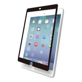 iBUFFALO iPad Air専用 液晶保護フィルム イージーフィット/スムースタッチ ブラック BSEFIPD13BK
