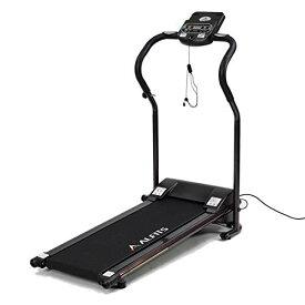 ALINCO(アルインコ) ウォーキングマシン 電動ウォーカー AFW3415 時速0.8~5km 3種トレーニングプログラム 専用マット 移動キャスター タブレット用トレー 組立て不要