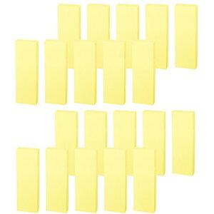 コクヨ 付箋 再生紙 ふせん K2 75mm×25mm 黄色 100枚×20本 K2メ-R7525YX20