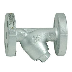 ヨシタケ Y型ストレーナー 80メッシュ 冷温水用 2.0MPa フランジ接続JIS20K 接続口径20A 本体FCD450 最高温度220℃ 型式SY-40H 20A