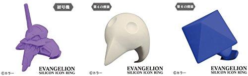 エヴァンゲリオン EVANGELION SILICON ICON RING 15個セット 【初号機】【第4の使徒】【第6の使徒】