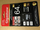 Gigastone Japan MicroSDXC Memory Card Class 10 64GB GJMX/64U