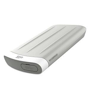 シリコンパワー 2.5インチ ポータブルHDD 1TB USB3.0対応 Mac対応 IP67 防塵 防水 耐衝撃 3年保証 SP010TBPHD65MS3G