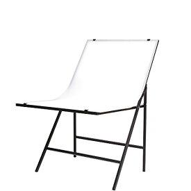 Andoer 60 x 100m 折り畳み式 撮影台 撮影用テーブル 撮影用機材 バックグラウンドサポート コンパクト収納 人物撮影 商品撮影 簡易スタジオ 並行輸入品