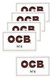 柘製作所(tsuge) OCB ホワイトダブル [スローバーニング ・ 100枚入り] #78911 ×5パック