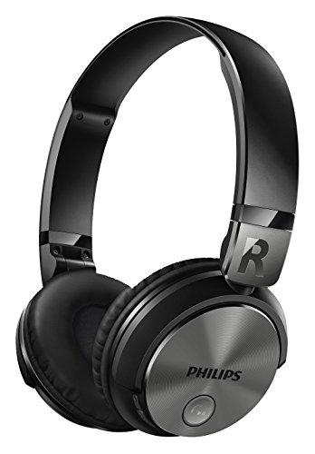 PHILIPS ワイヤレスヘッドホン 密閉型/オンイヤー/Bluetooth対応/NFC対応/リモコン・マイク付/折りたたみ式 ブラック SHB3185BK【国内正規品】