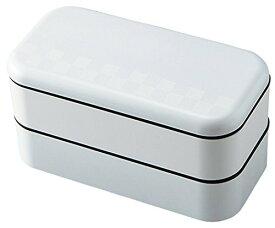 お弁当箱 サイズランチ スタック スクエアランチ ホワイト 750ml T-36166
