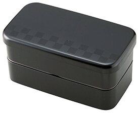 お弁当箱 サイズランチ スタック スクエアランチ ブラック 500ml T-36151