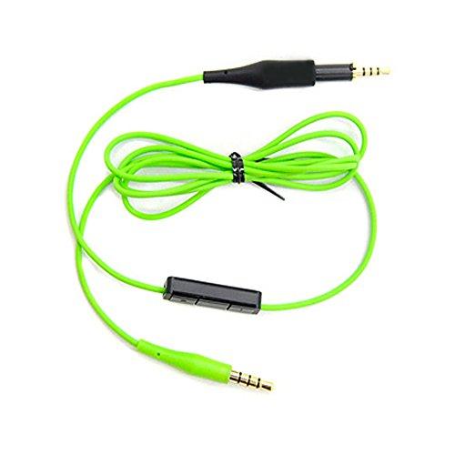 Woodhifi リケーブル 交換用ケーブル イヤホンケーブル ヘッドホンケーブル 着脱式のケーブル マイク内蔵 音量調整可能 Q460 K430 K450 K451 K452 K480に対応