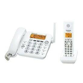 パナソニック デジタルコードレス電話機 子機1台付き ホワイト VE-GP24DL-W