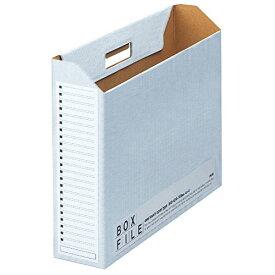プラス ボックスファイル エコノミー 5冊 A3横 背幅100mm 77-887 ブルー