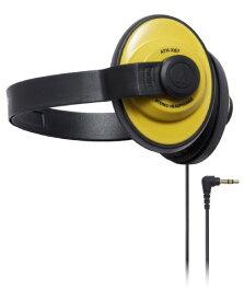 audio-technica X-Street Style 密閉型オンイヤーヘッドホン ポータブル バックバンド イエロー ATH-XS7 YL