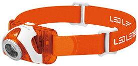 LED LENSER(レッドレンザー) LEDヘッドライト SEO3 オレンジ 【明るさ約100ルーメン/点灯約40時間/最長照射距離約100m】 6104 [日本正規品]