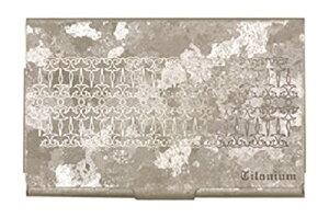 ホリエ チタン製 カードケース チタンシルバー