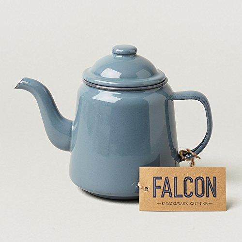 FALCON Enamelware ファルコン エナメルウェア ティーポット グレー