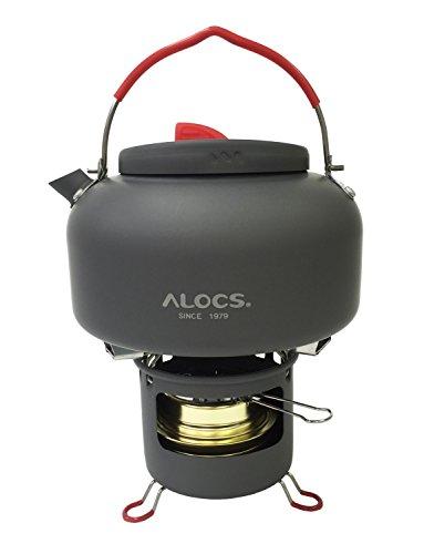 ALOCS(アロクス) ケトル ハローケトル 〔アルコールストーブ付〕 1.4L 【正規品】 CW-K04 PRO