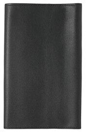 スリップオン フリータイプ新書判ブックジャケット ノワール 革 ブラック NSL-3401