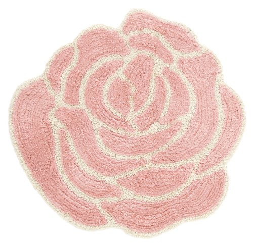 フロアマット ローザ ピンク 60×60cm